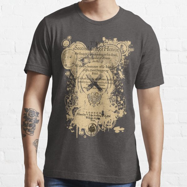 Shakespeare's Henry IV Part 2 Quarto Front Piece Essential T-Shirt