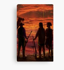 Outback Sunset by tasmanianartist for Karl May Friends Canvas Print
