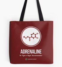 Neurotransmitter Series: Adrenaline Tote Bag