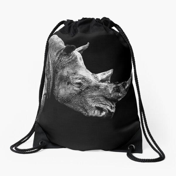 SAFARI PROFILE - RHINO BLACK EDITION Drawstring Bag