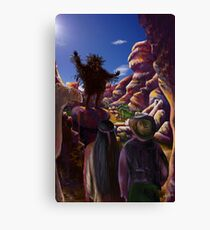 The Yowie by tasmanianartist for Karl May Friends Canvas Print