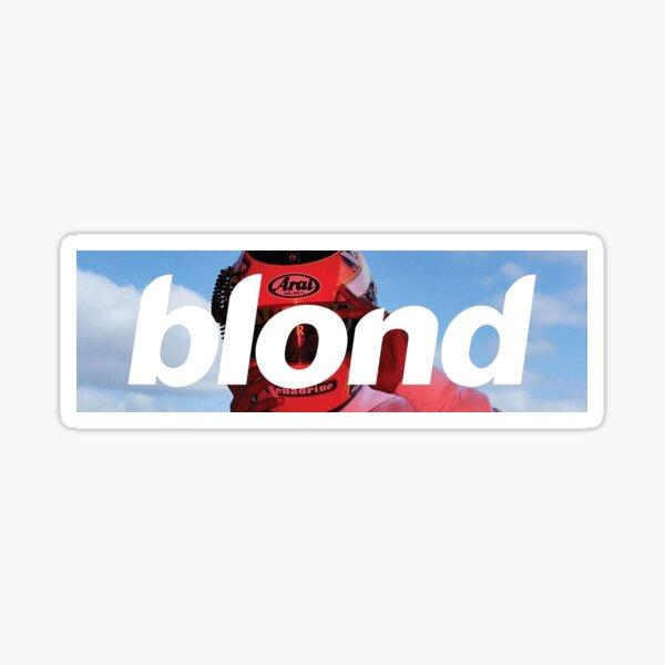 Frank Ocean Blond - Logotipo de la caja del casco Pegatina