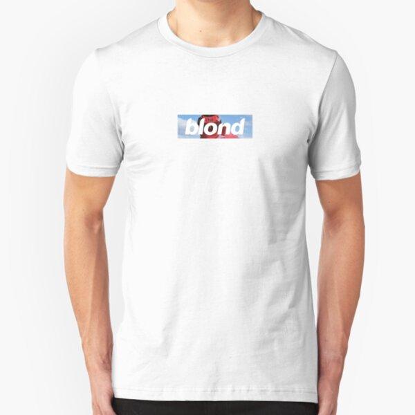 Frank Ocean Blond - Helmet Box Logo Slim Fit T-Shirt