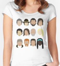 The Walking Dead Women's Fitted Scoop T-Shirt