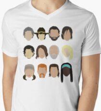 The Walking Dead Men's V-Neck T-Shirt