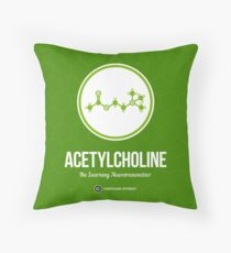 Neurotransmitter Series: Acetylcholine Throw Pillow