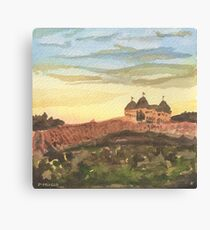 Chateau Elan - Vineyard Landscape  Canvas Print