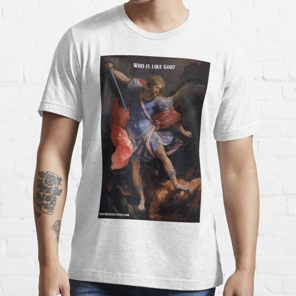 Saint Michael - Who is like God? Essential T-Shirt