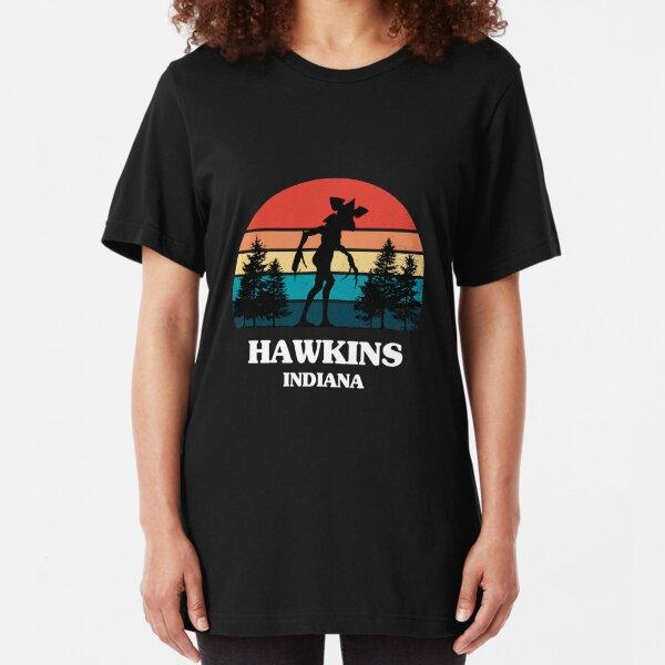 Demogorgon Hawkins Slim Fit T-Shirt