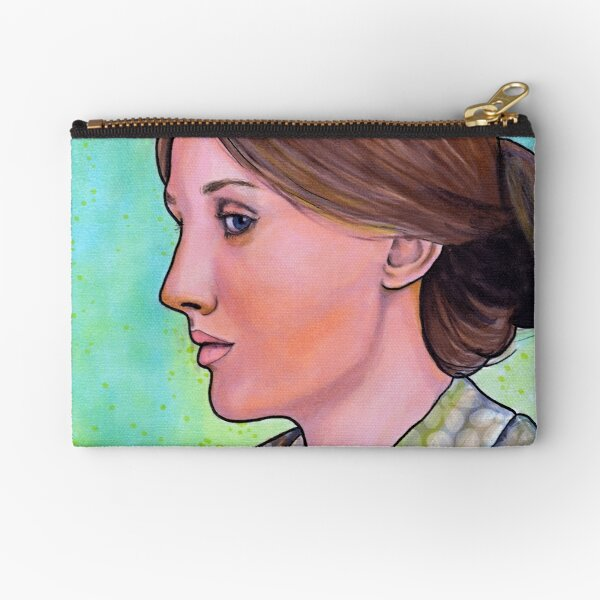 Virginia Woolf Zipper Pouch