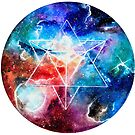 Sacred Geometry Merkaba art by Handmaiduns