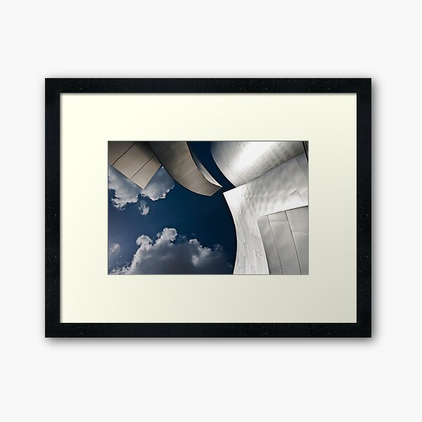 Gas and Solids Framed Art Print