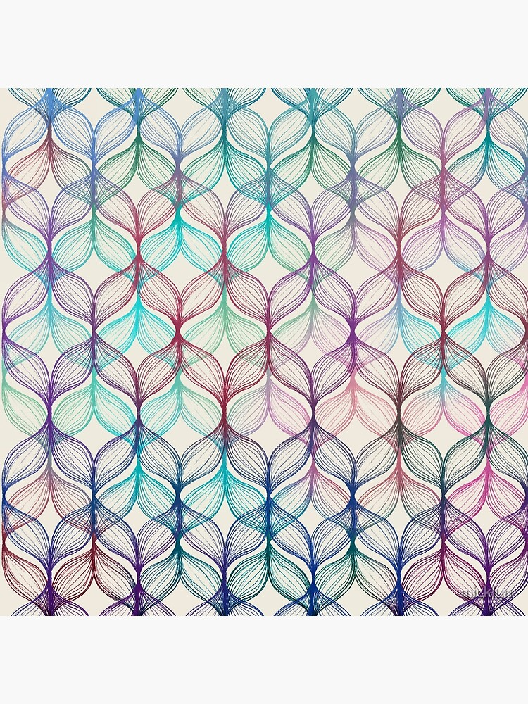 Mermaid's Braids - a colored pencil pattern by micklyn