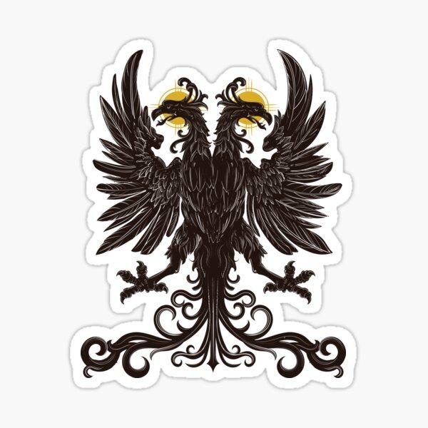 Holy Roman Empire double-headed eagle Sticker