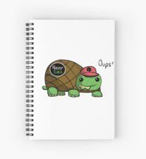 Turtle - Never Eats Spiral Notebook