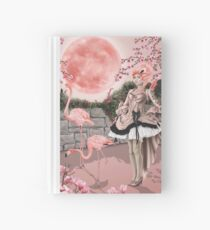 Flamingo Fairy - Pink Moon Hardcover Journal