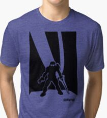 Survive- Noble Six Tri-blend T-Shirt