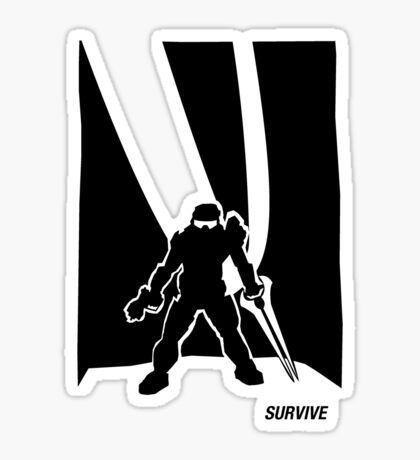 Survive- Noble Six Sticker