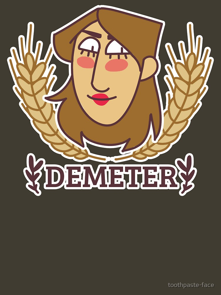 Holy Heads: Demeter de toothpaste-face
