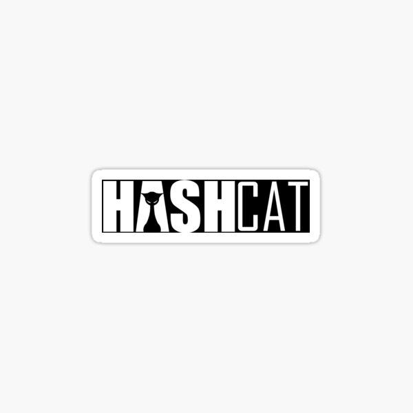 Tech - Hashcat Logo  Sticker