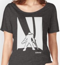 Survive- Noble Six White Women's Relaxed Fit T-Shirt