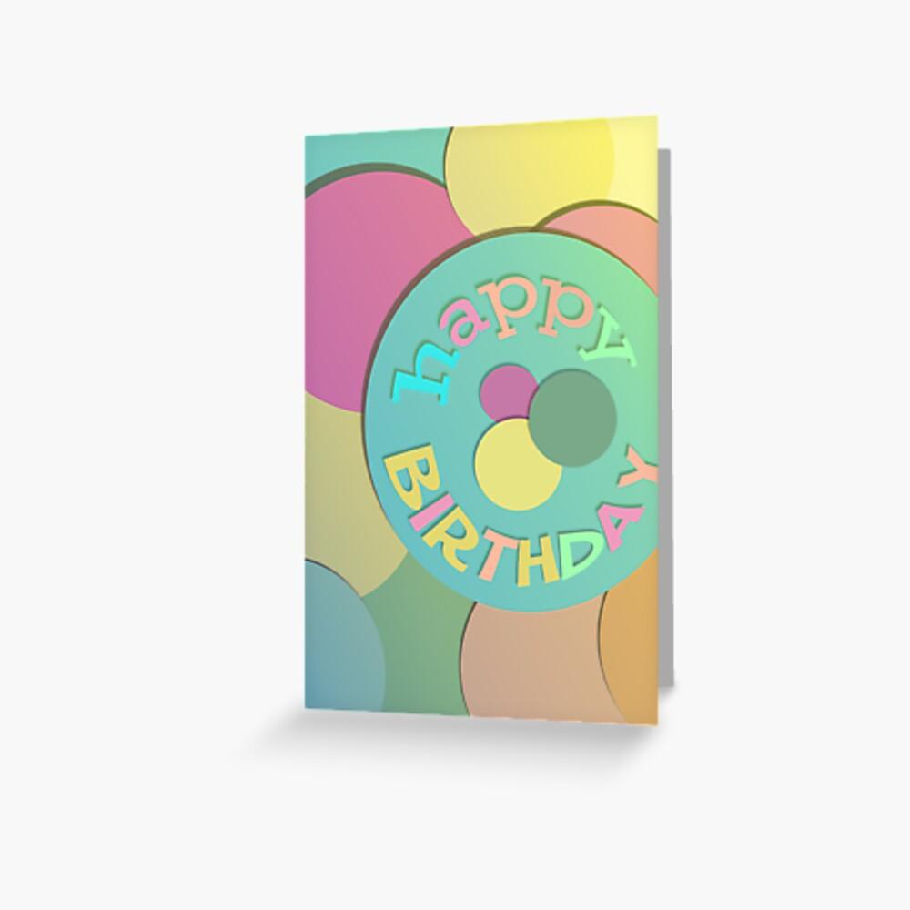 Card: Birthday Greeting Card