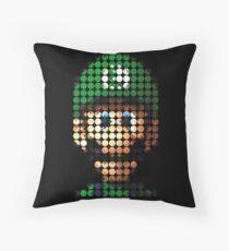 Luigi - Pictodotz Throw Pillow