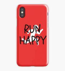 Run Happy iPhone Case/Skin