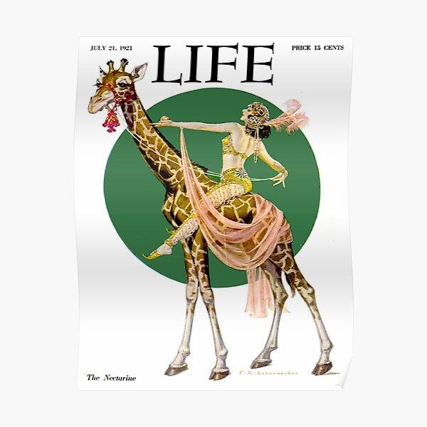 LIFE : Vintage 1921 Magazine Advertising Print Poster