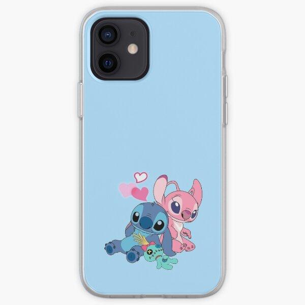 Stitch & Angel 2 iPhone Soft Case