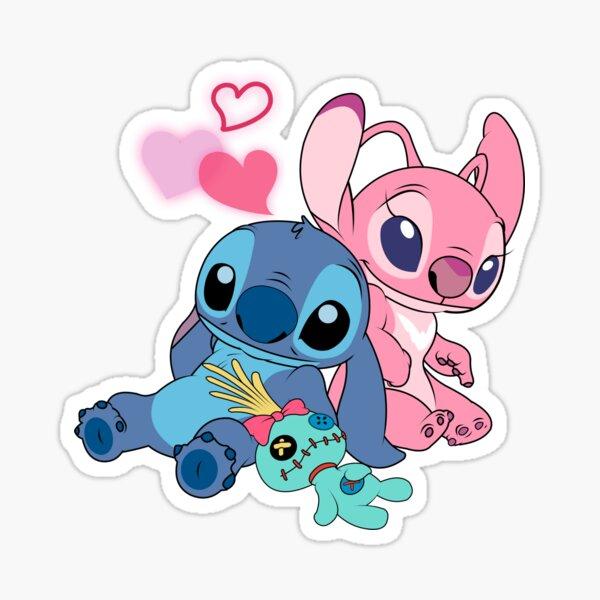 Stitch & Angel 2 Sticker