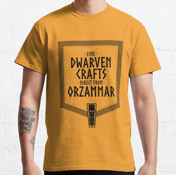 Fine Dwarven Crafts... Classic T-Shirt