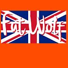 Fat Wolf Union Jack by danbadgeruk