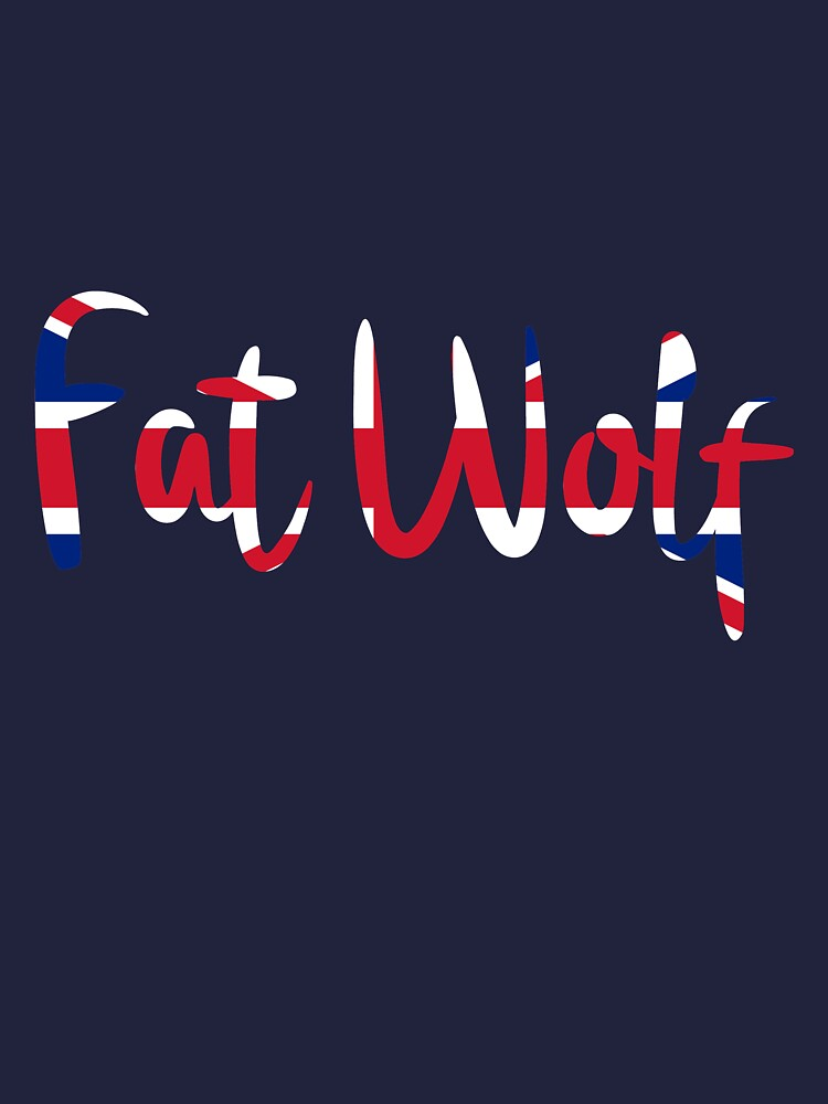Fat Wolf Logo (Union Jack) by danbadgeruk