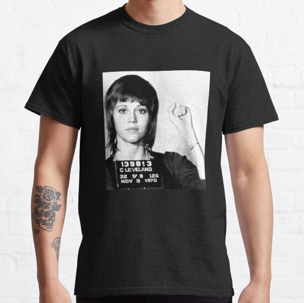 Jane Fonda Mugshot Classic T-Shirt