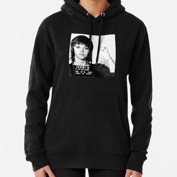 Jane Fonda Mugshot Pullover Hoodie