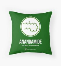 Neurotransmitter Series: Anandamide Throw Pillow