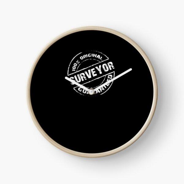 100% Original SURVEYOR T-Shirt for SURVEYORS Shirt Clock