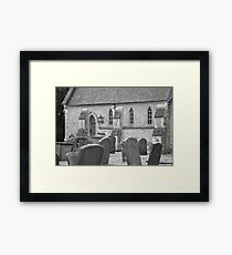 Headstones. Framed Print