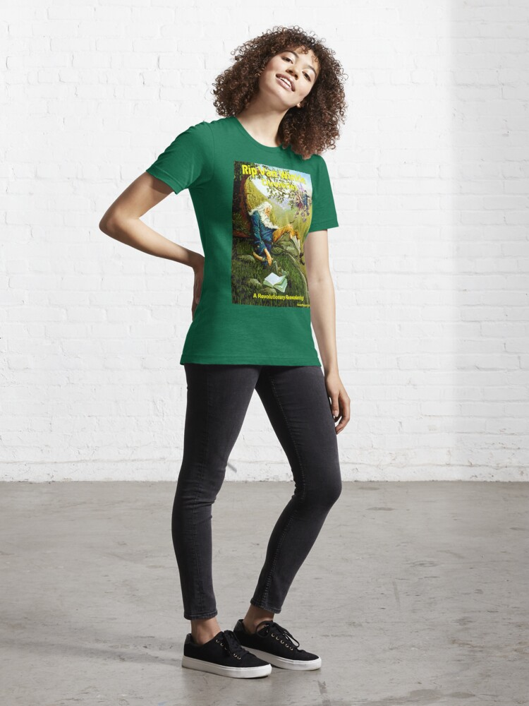 Alternate view of Rip Van Winkle Chronicles Essential T-Shirt