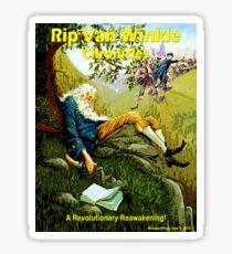 Rip Van Winkle Chronicles Glossy Sticker