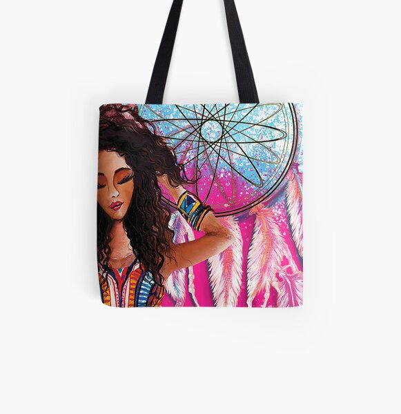Get it Girl All Over Print Tote Bag