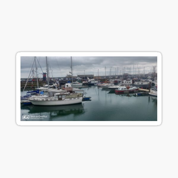 Ramsgate Harbour Sticker