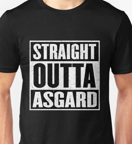 Straight Outta Asgard - Avenging the Hood - Movie Mashup - Geek Humor & Comics Unisex T-Shirt