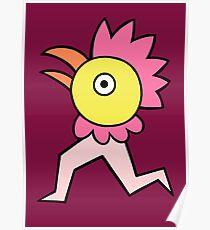 Run run chicken boy Poster