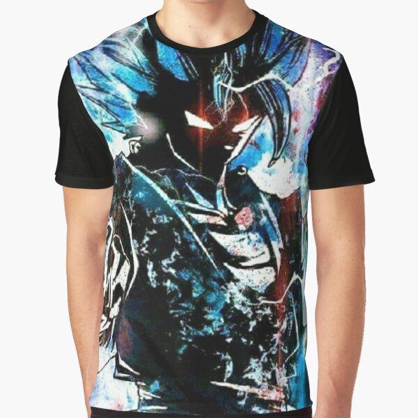 Gogeta SSJ God Blue Graphic T-Shirt