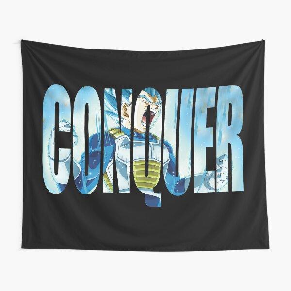 CONQUISTA - Vegeta Super Saiyan God Blue Tela decorativa