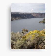 Lake Billy Chinook Canvas Print