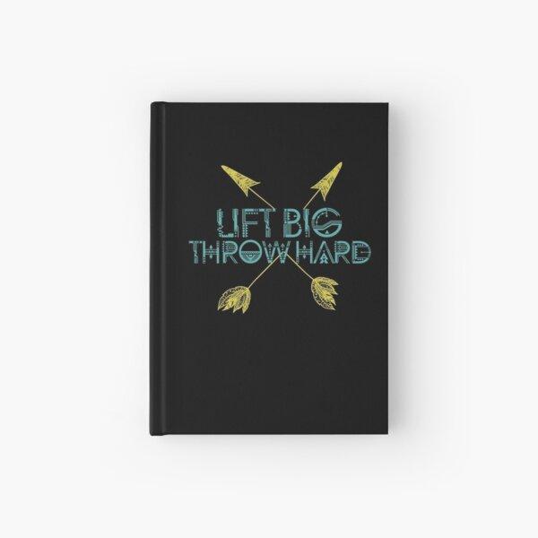 Lift Big Throw Hard Hardcover Journal