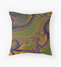 Springy Things Throw Pillow